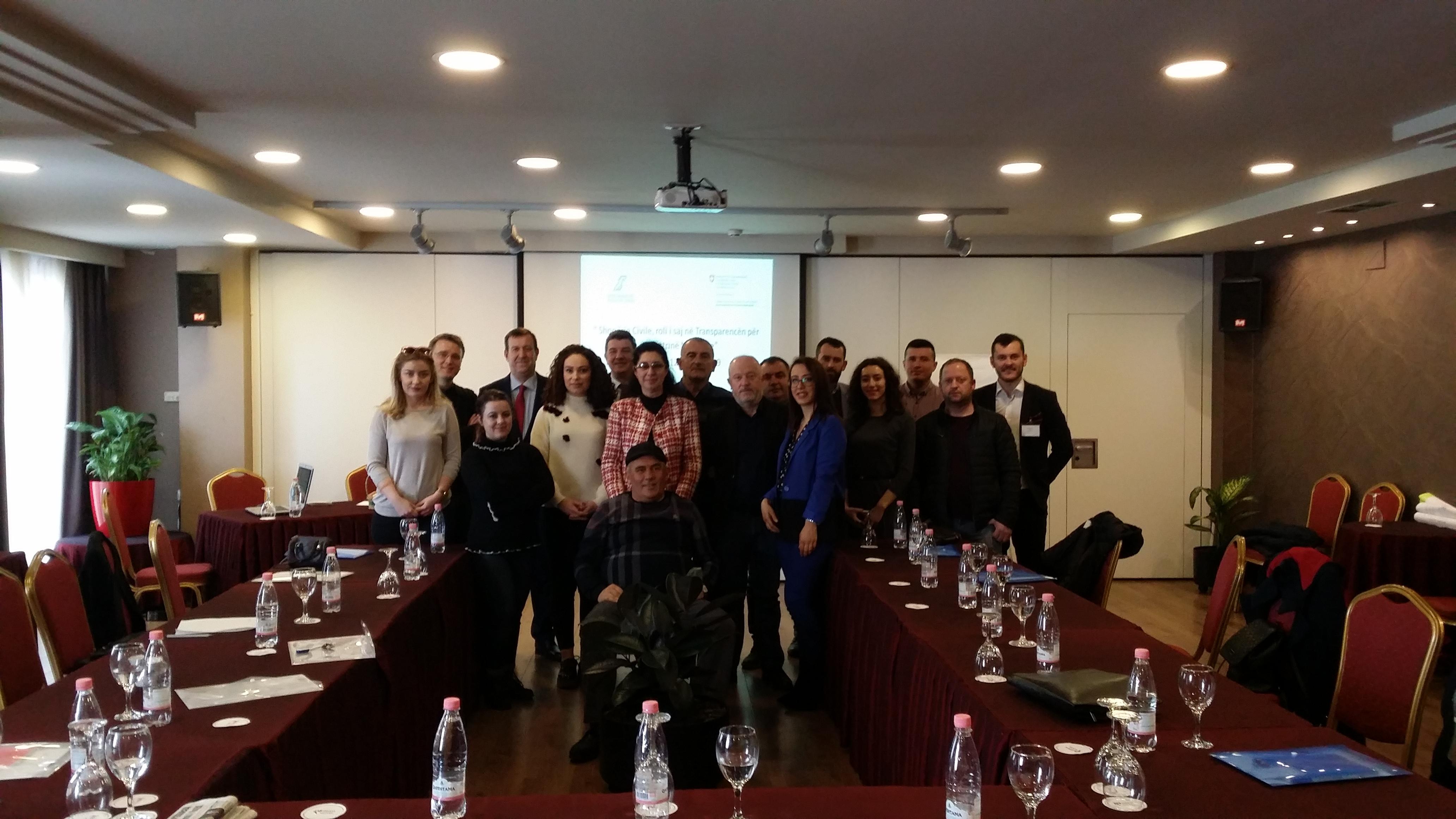 Seminari i Shoqërisë Civile dhe zgjedhjet për përfaqësuesit e Grupit Ndërinstitucional-MSG