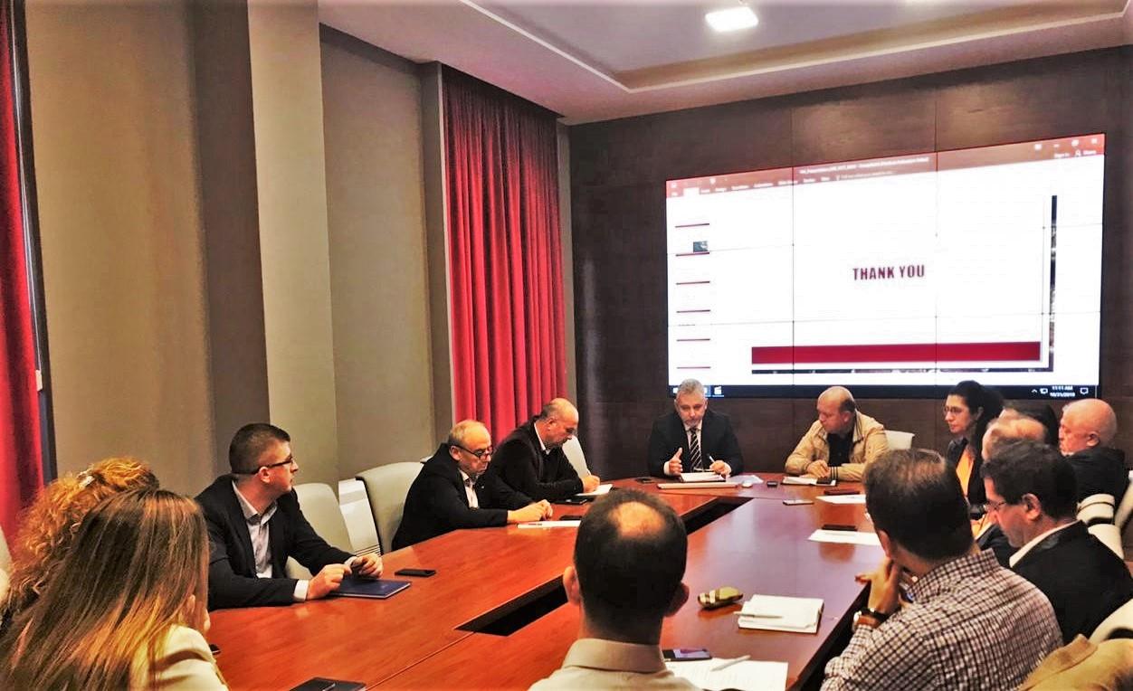 Takim MSG – Prioritetet AlbEITI për përgatitjen e Raportit zyrtar vjetor EITI dhe Deklarimit të Pronarëve Realë (Beneficial Ownership) në Industrinë Nxjerrëse