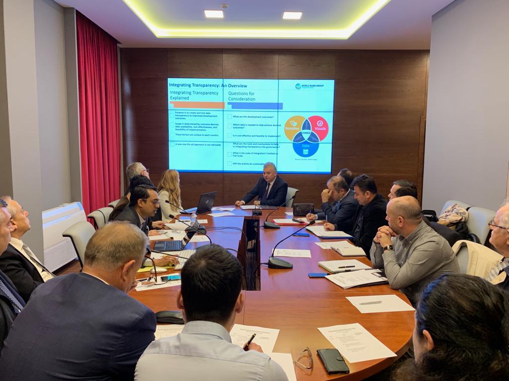 Misioni i Bankës Botërore në Tiranë për diskutimin e prioriteteve EITI dhe vizionit të zhvillimit të qëndrueshëm sektorial